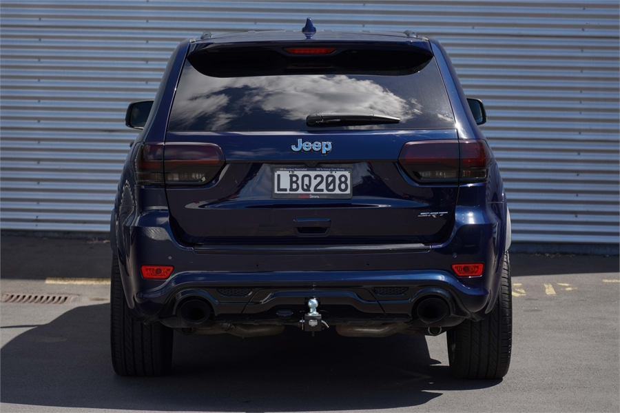 2017 Jeep Grand Cherokee SRT8 6.4P 4WD 8A 5Dr Wagon
