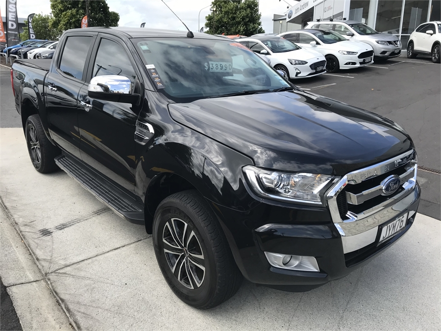 2016 Ford Ranger Xlt Double Cab W/S 3 M/T