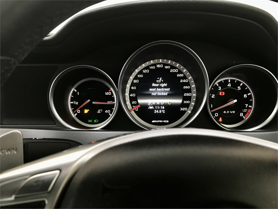 2013 Mercedes-Benz C 63 63 Amg Coupe
