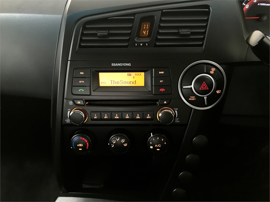2016 SsangYong Actyon Wrkmte2wdpetrolm 2.3