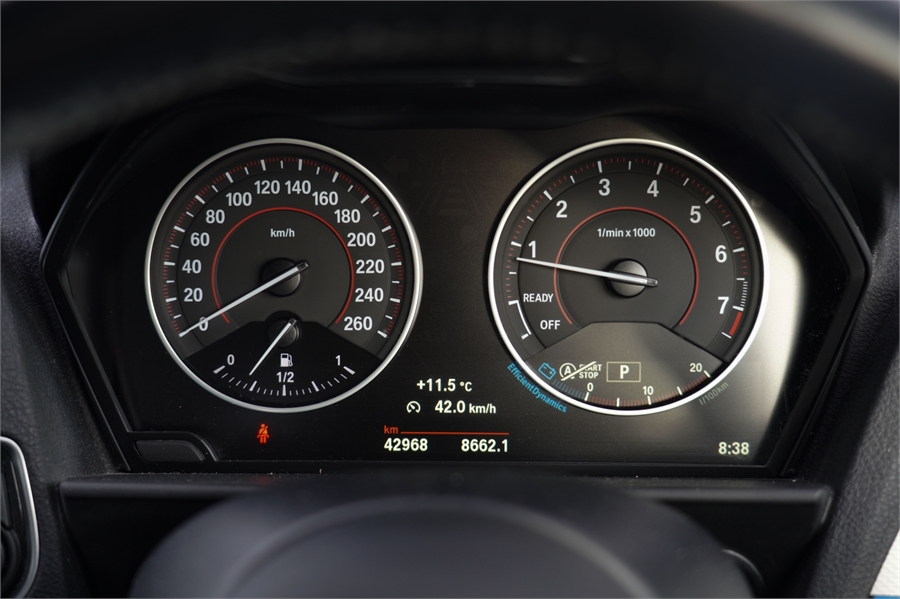 2015 BMW 2 Series 220i 2.0P 8A 2Dr Coupe
