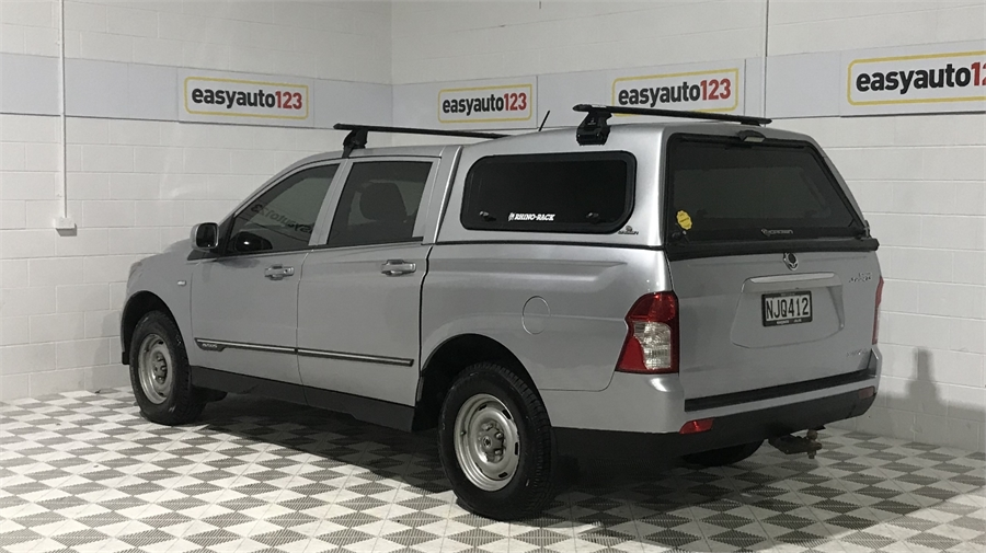 2013 SsangYong Actyon 2Wd Man D Workmate 2