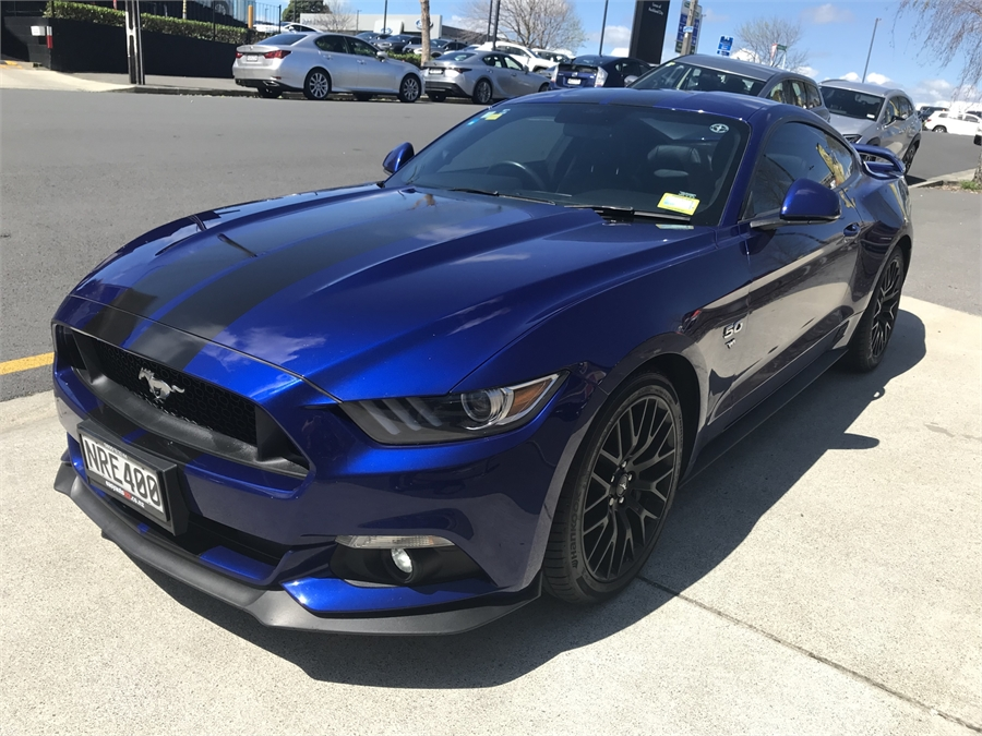 2016 Ford Mustang 5.0L Fastback Mt 5.0