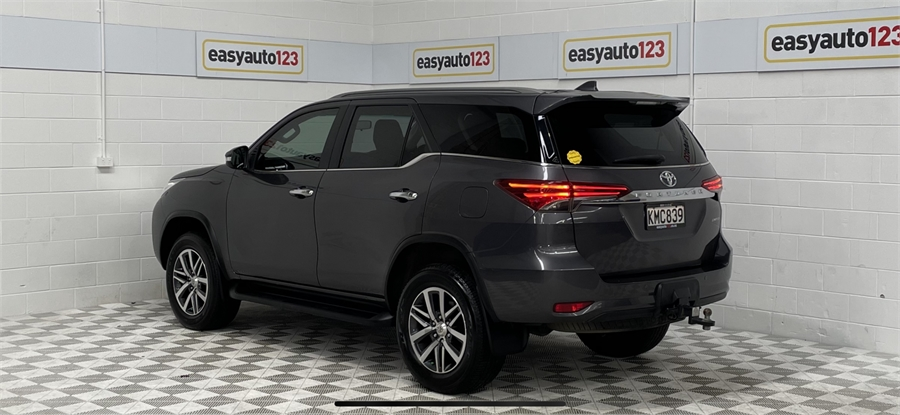 2017 Toyota Fortuner Limited 2.8D/4Wd/6At