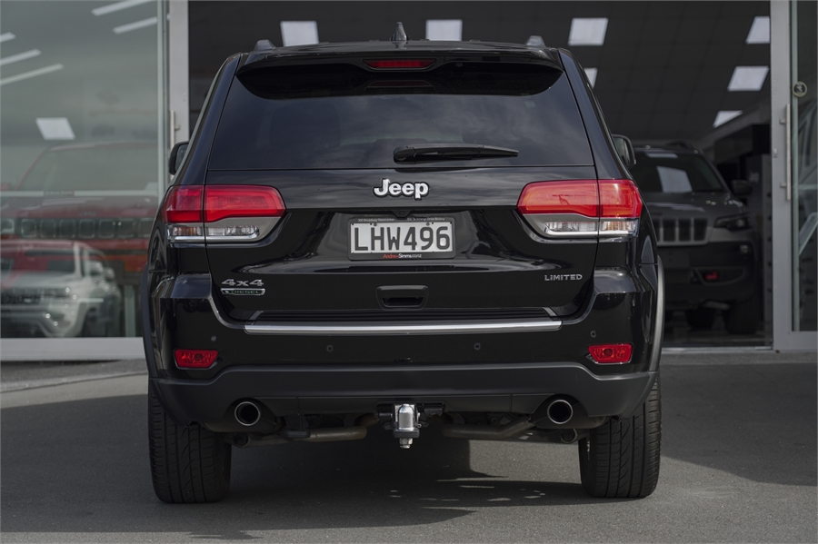 0 Jeep Grand Cherokee Limited 3.0CRD 4WD 8A 5Dr Wagon