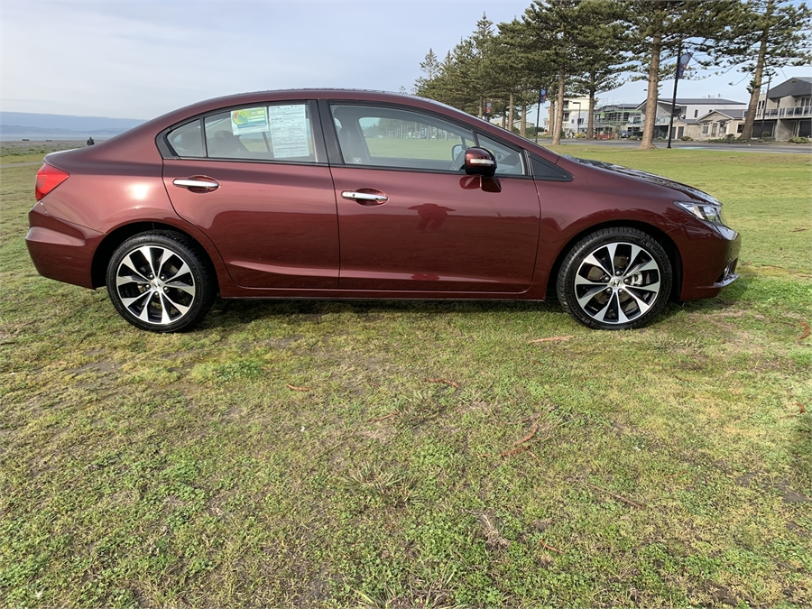2015 Honda Civic LN Elite NZ New 1 Owner