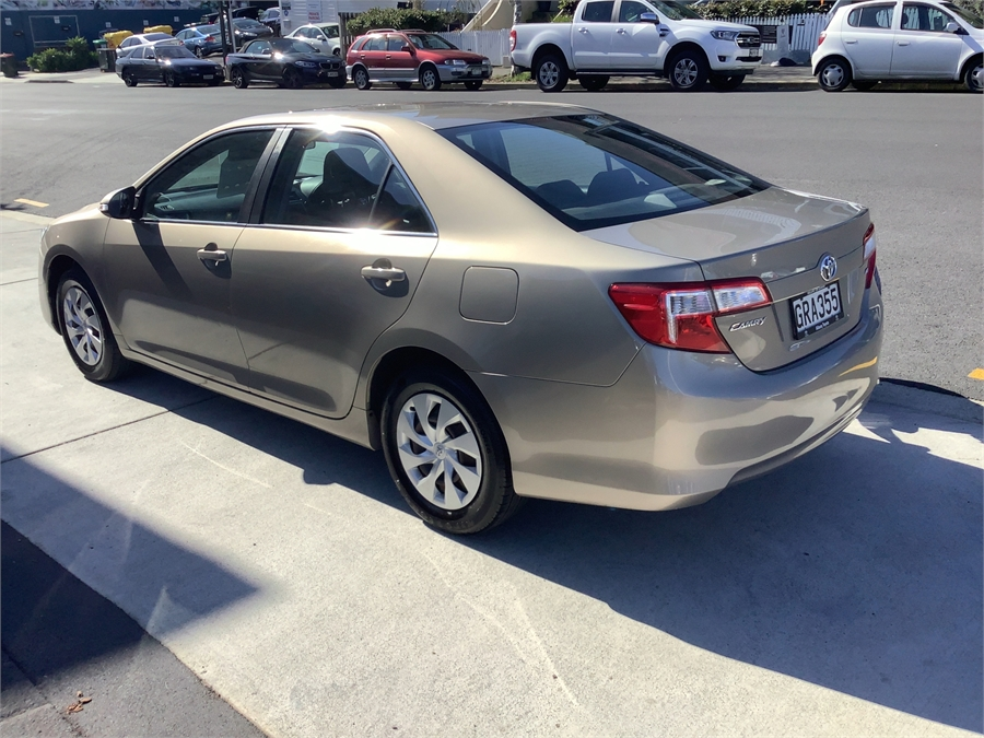 2012 Toyota Camry GL STEEL 2.5P SDN 6A