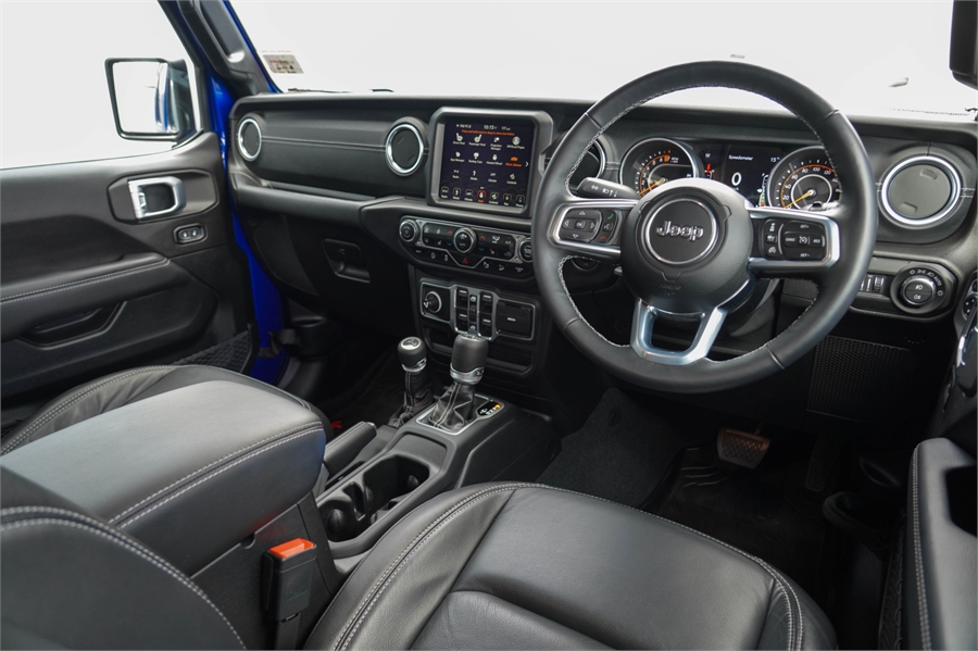 2019 Jeep Wrangler Overland 3.6P 4WD 5A 5Dr Wagon