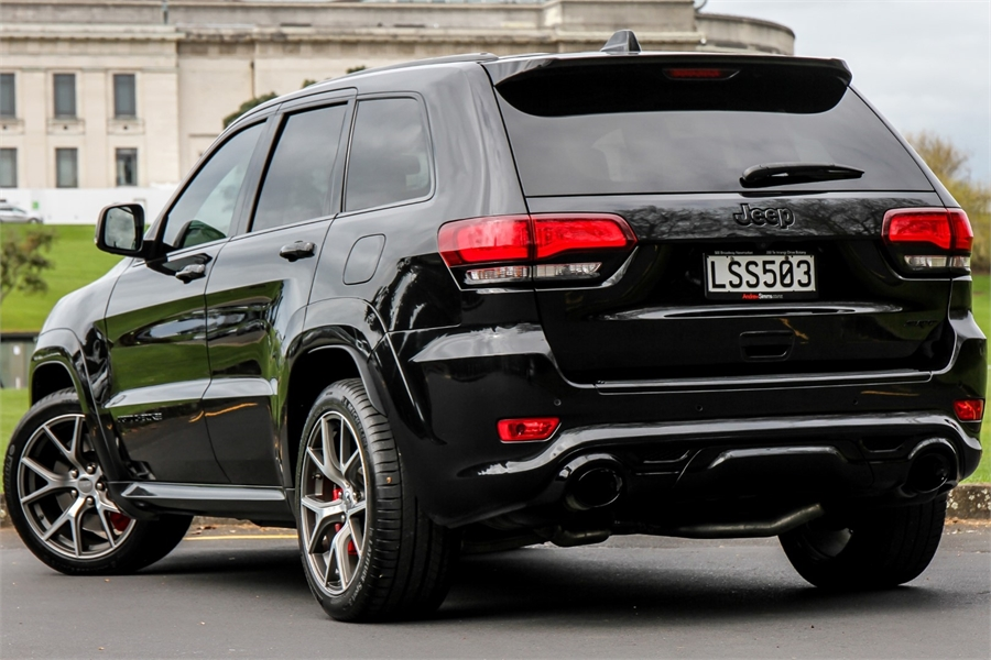 2016 Jeep Grand Cherokee SRT8 6.4P 4WD 8A 5Dr Wagon